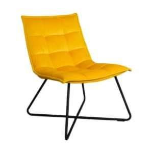 yellow-velvet-accent-chair