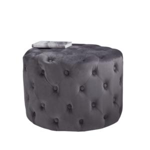 grey-velvet-pouffe