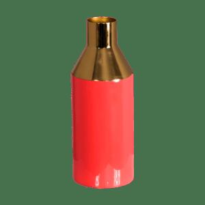 Gold-Stem-Living-Coral-Vase