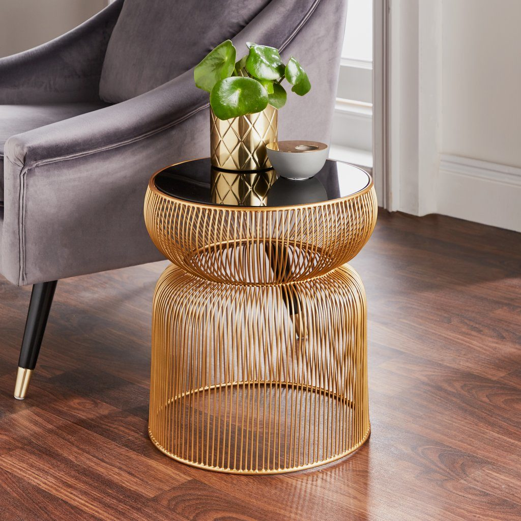 gold-side-table-and-armchair