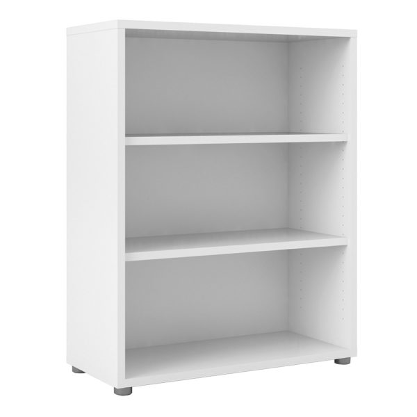 bookcase_2_shelves_white